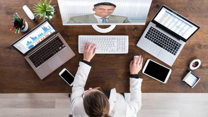 Zoom-Fatigue: Virtuelle Meetings machen müde