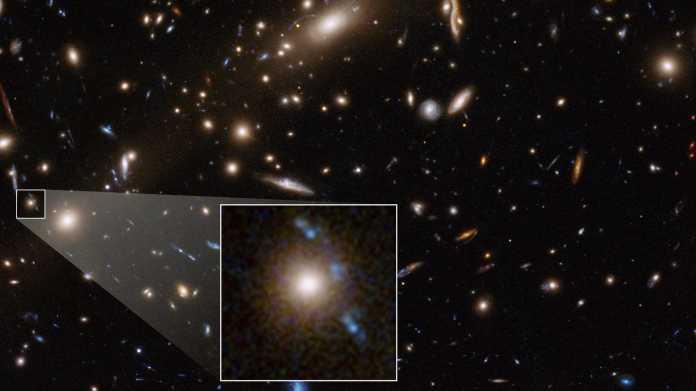Dunkle Materie: Hubble und VLT weisen auf Lücke in aktuellen Theorien hin