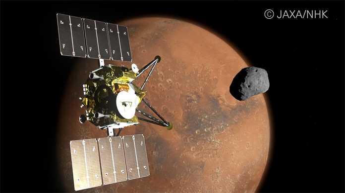 Marssonde MMX: Japan will 4K- und 8K-Kameras zum Roten Planeten schicken
