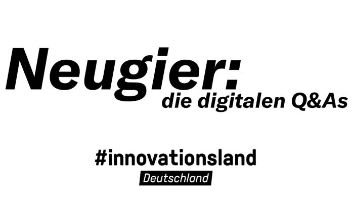 #innovationsland Deutschland: digitale Live-Interviews des BMBF zu Innovationen