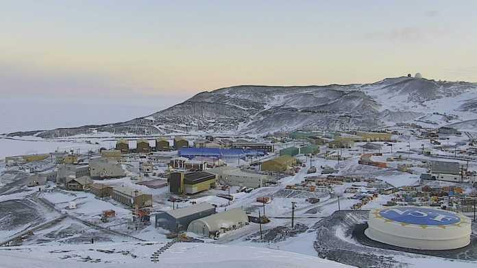 Maske jetzt auch am Südpol: Forscher starten die Antarktis-Saison