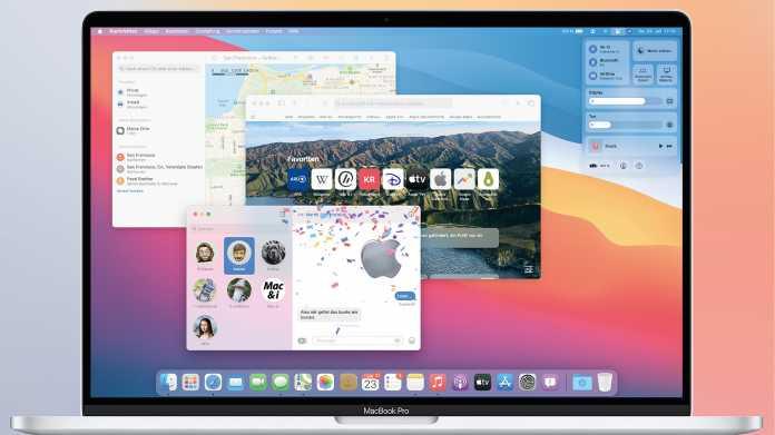 macOS 11: Die wichtigsten Neuerungen von Big Sur
