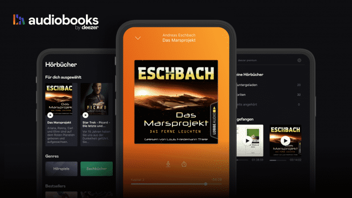 Audiobook: Deezer startet eigene App für Hörbücher und Hörspiele