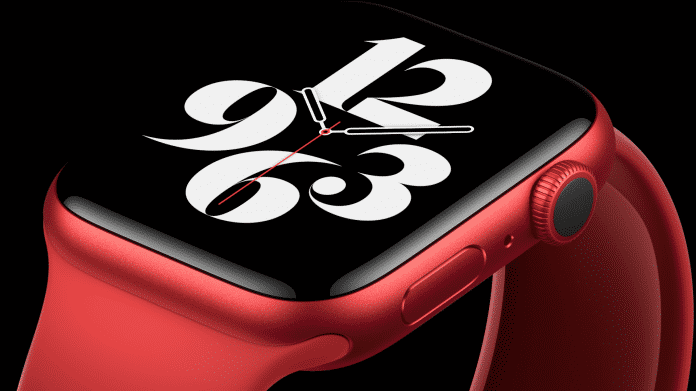 Apple Watch Series 6 misst Sauerstoffsättigung
