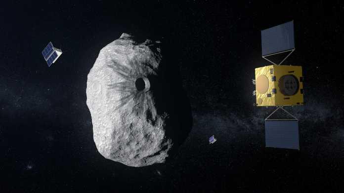 Europas Raumfahrtbehörde ESA startet Projekt zur Asteroiden-Abwehr