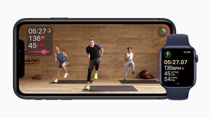 Apples Fitness+Programm muss in Deutschland warten