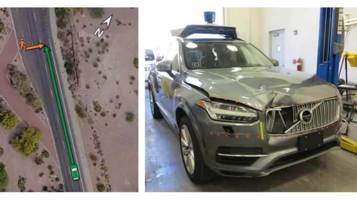 Tödlicher Crash mit autonomen Auto: Fußgänger auf Fahrbahn nicht vorgesehen