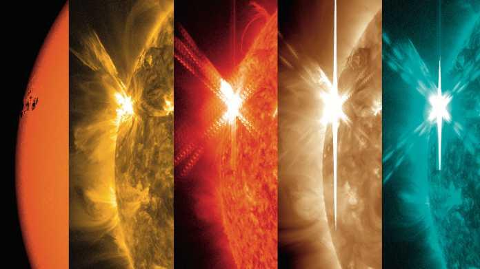 Die Sonne steuert auf das nächste Aktivitätsmaximum zu