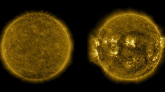 Sonnenaktivität: Der nächste Zyklus hat begonnen – und wird schwach