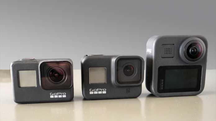 NDA 1.10.19 15:00 Uhr Zweimal neue GoPro: Hero 8 Black und Hero Max