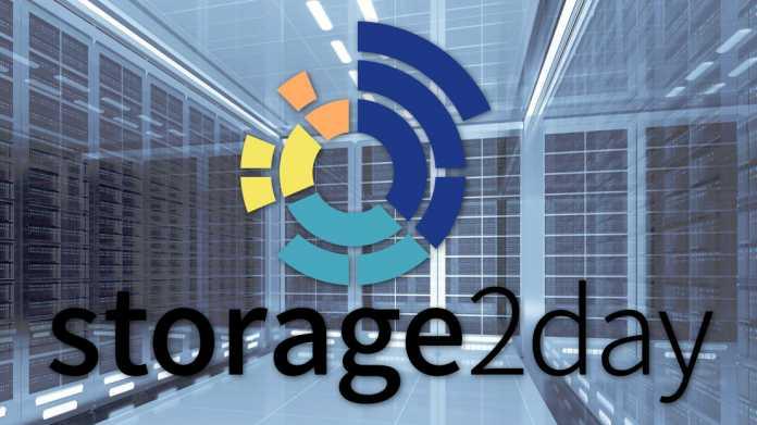 Start der storage2day: Storage Security & Backup Day