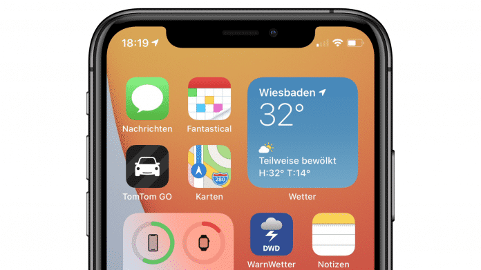 iOS 14 auf iPhone