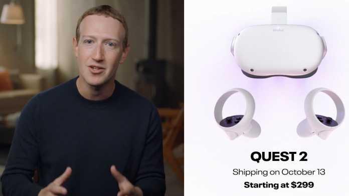 Auflösung hoch, Preis runter: Oculus Quest 2 für 299 US-Dollar