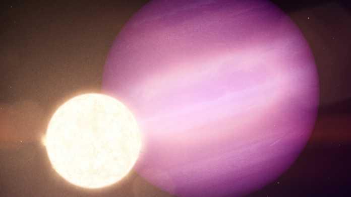 Astronomie: Erstmals Exoplanet bei Weißem Zwerg entdeckt