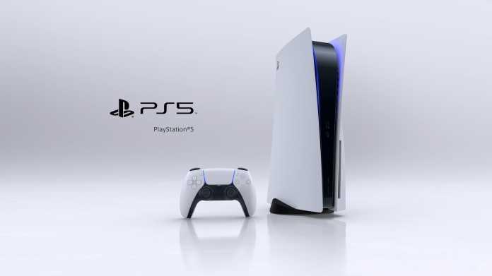 Sony Playstation 5: 39 Zentimeter hoch, 4,5 Kilogramm schwer
