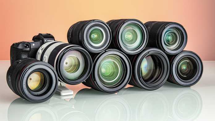 Von Ultra-Weitwinkel bis Telezoom: Acht Objektive für die Canon EOS R im Test