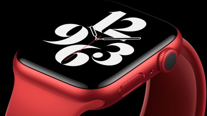 Apple Watch Series 6 misst Sauerstoffsättigung
