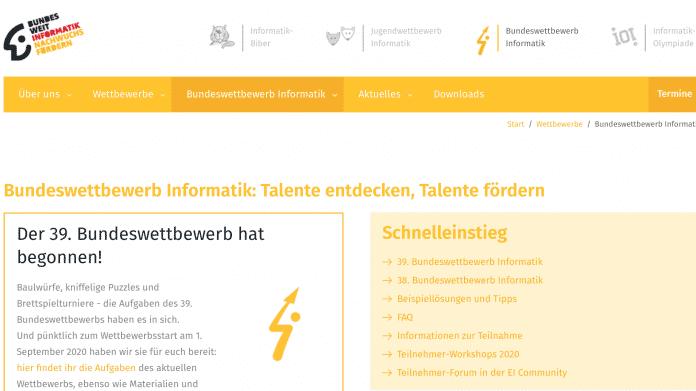 Bundeswettbewerb Informatik: Die Sieger der 38. Ausgabe stehen fest