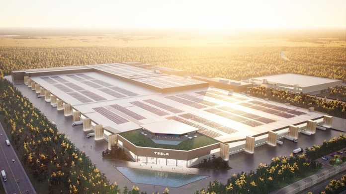 Tesla baut in Brandenburg mit Tempo – Kritik an der Fabrik wächst