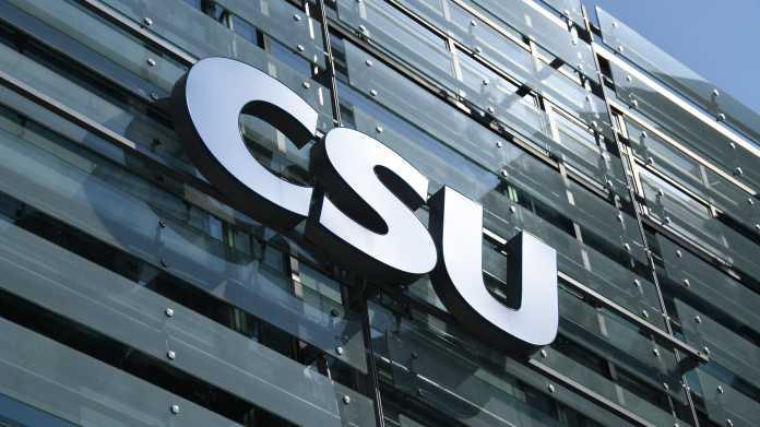 CSU verlegt auf absehbare Zeit alle Großveranstaltungen ins Netz