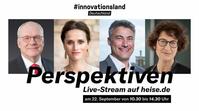 #innovationsland: Live-Diskussion von Forschungsministerin Karliczek mit Innovatoren