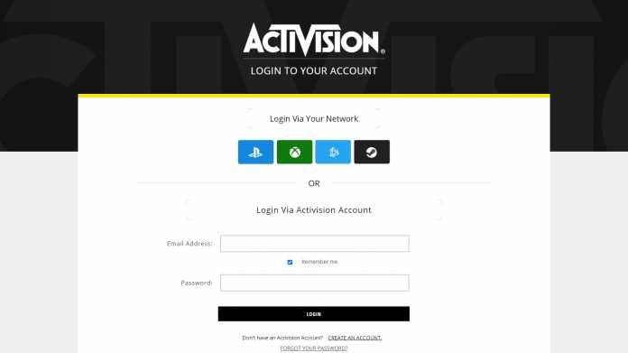 Activision-Accounts: Nutzer berichten von großem Datenleck