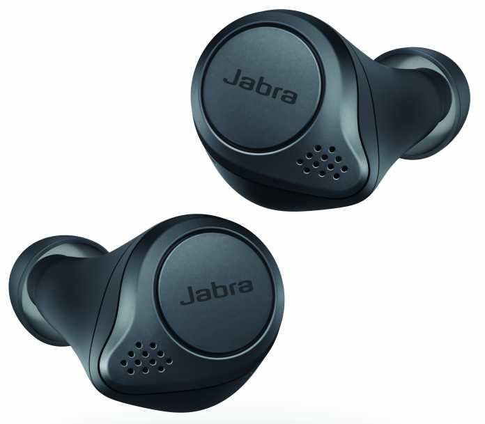 Die Jabra Elite Active 75t haben bisher nur eine passive Geräuschunterdrückung durch tief im Gehörgang sitzende Passstücke.