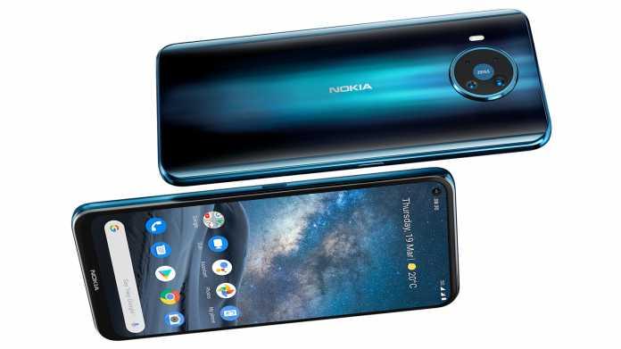 Nokia 8.3: Oberklasse-Smartphone mit 5G und Update-Garantie