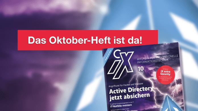 IX 10/2020: Angriffsziel Active Directory