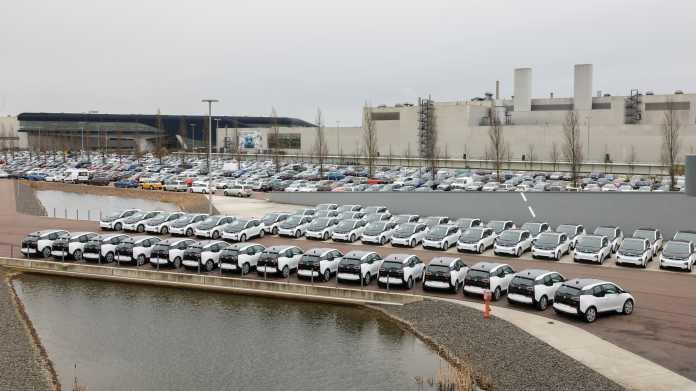 BMW baut in Leipzig Batteriemodule für Elektroautos
