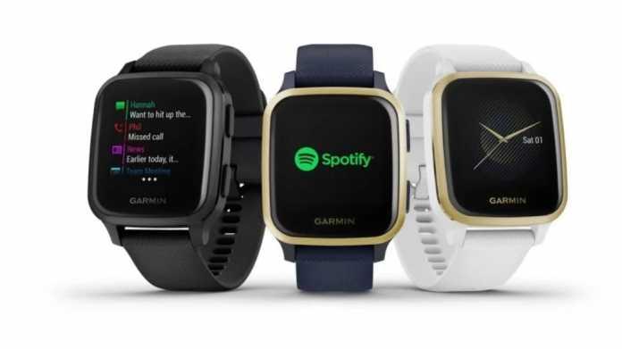 Garmin Venu Sq: Smartwatch mit Garmin Pay für 200 Euro