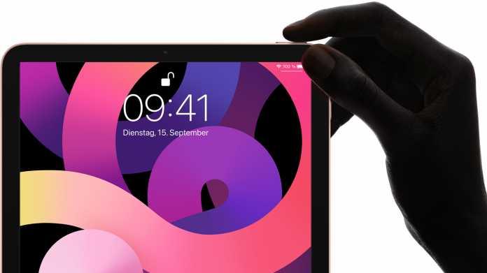iPad Air 4 mit Touch-ID