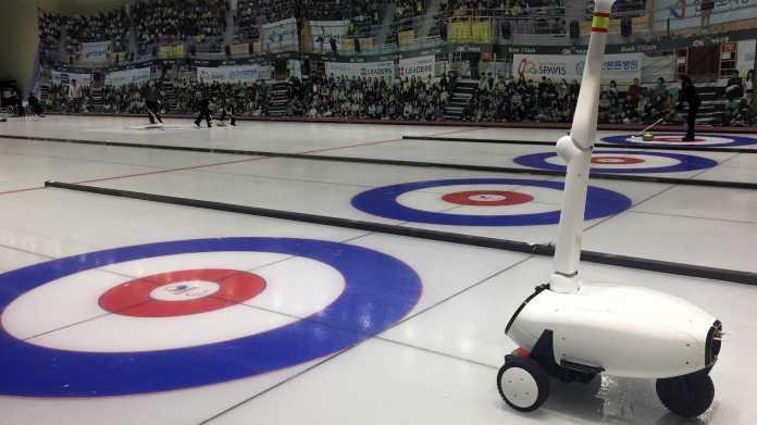 Curly: Curling-Roboter spielt besser als Profis