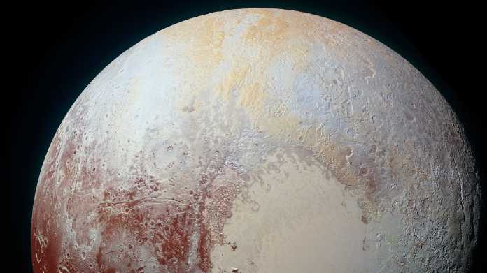 Kongress der Planetenforscher EPSC 2020: Plutos Norden vor 80 Jahren Sommer