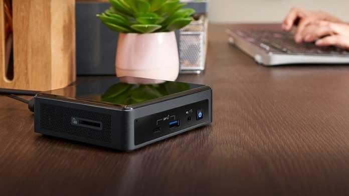 Mini-PCs: Intel NUC mit Tiger Lake, vier Display- und zwei Ethernet-Buchsen