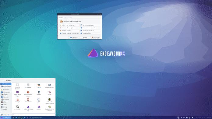 Linux-Distribution EndeavourOS 2020.09.20: Viel Modellpflege und Support für ARM