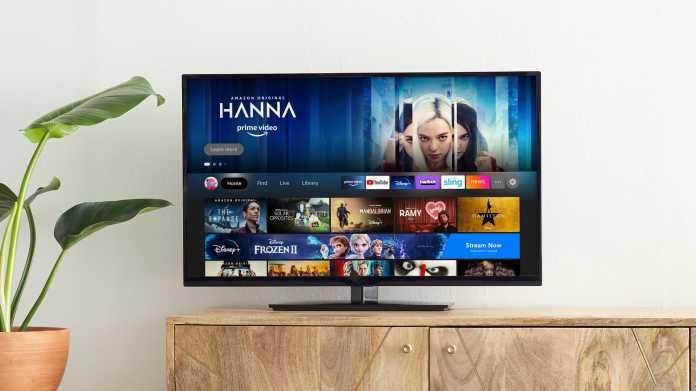 Amazon hat die Fire-TV-Oberfläche überarbeitet. Neu hinzugekommen ist unter anderem eine Leiste mit den verschiedenen Videostreamingdiensten, die auf dem Gerät verfügbar sind.