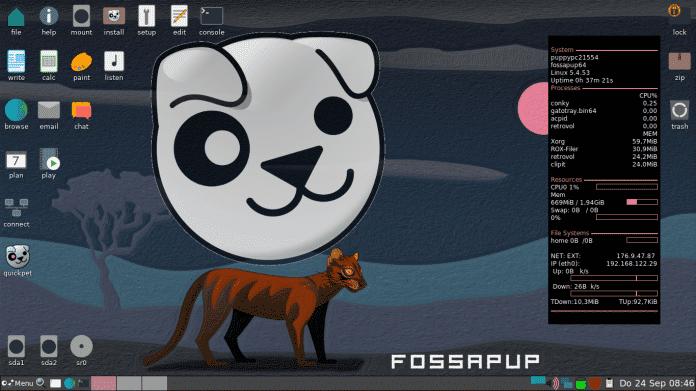 Puppy Linux 9.5: Kompaktes Live-System mit Ubuntu-Paketquellen