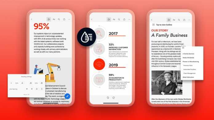 Adobe nutzt KI für besseres PDF-Leseerlebnis auf mobilen Geräten