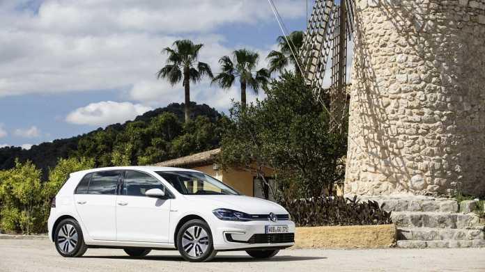 Uber E-Auto-Service in Berlin mit VW e-Golf