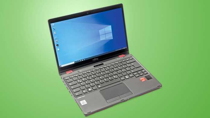 Leichtes Business-Notebook Fujitsu LifeBook U9310X mit LTE