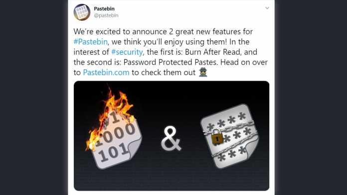 Pastebin.com: Zwei neue Features könnten Malware-Machern in die Hände spielen