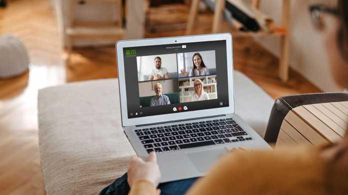 Vertrauliche Videomeetings für Unternehmen