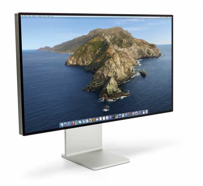 Apple teilt die LEDs im Backlight des Pro Display XDR in 576 unabhängig voneinander dimmbare Zonen ein und erreicht damit eine Spitzenleuchtdichte von knapp 1500 cd/m2.