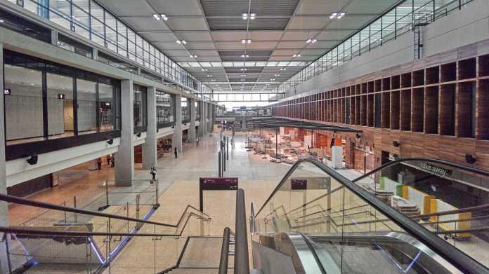 Erster Probelauf im Flughafen BER: Noch nicht fertig, aber es wird