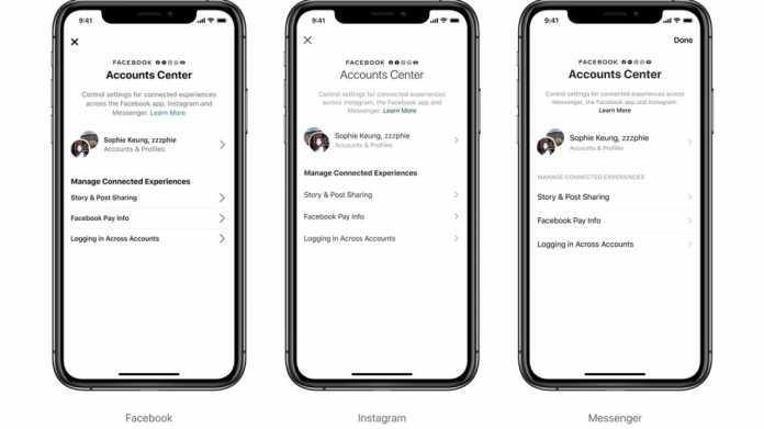Account Center: Facebook vereinheitlicht und verknüpft seine Dienste