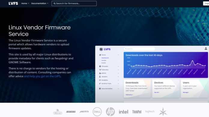 Linux Vendor Firmware Service (LVFS) verzeichnete zwanzigmillionsten Download