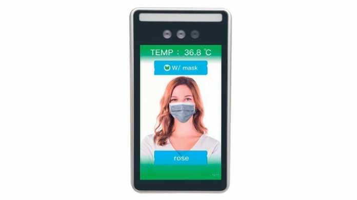 Als Coronavirus-Schutz: KI-Kamera erkennt Schutzmaske und Körpertemperatur