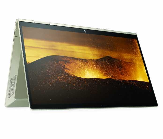 Das Envy x360 13 wird mit Core-i-Prozessoren der elften Generation aktualisiert.