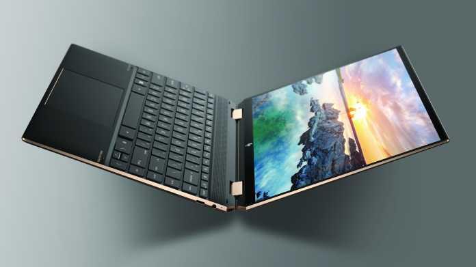 HP Spectre x360 14: Convertible-Notebook mit 3:2-OLED-Bildschirm